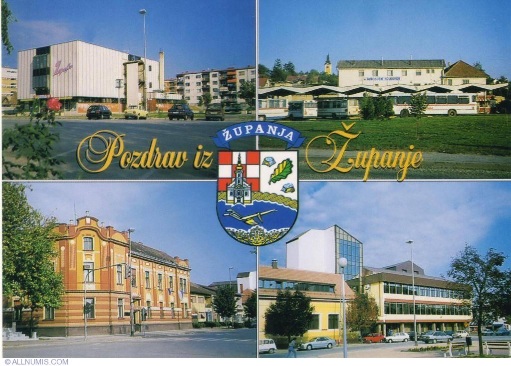 županja županja Croatia Postcard 1084