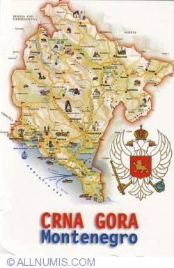 Image #1 of Map of Montenegro