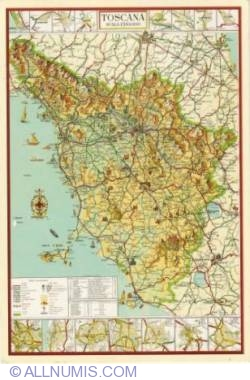 Image #1 of Map of Toscana