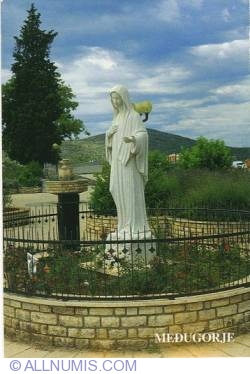 Imaginea #2 a Međugorje - Virgin Mary statue