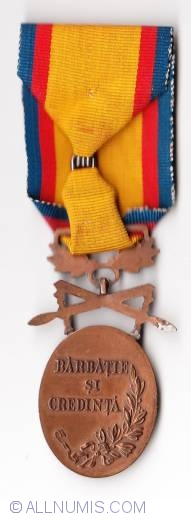 Manhood and Loyalty Medal 3rd class