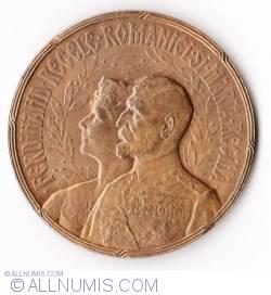 MEDALIE INCORONAREA REGELUI. ALBA-IULIA 15-X-1922