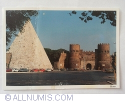 Image #1 of Rome - Porta San Paolo. Pyramid