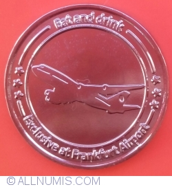 Frankfurt coin for eat and drink