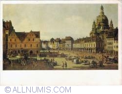 Imaginea #1 a Canaleto (B. Bellotto) (1721 - 1780) - Der Neumarkt zu Drezden (Gemäldegalerie Dresden)