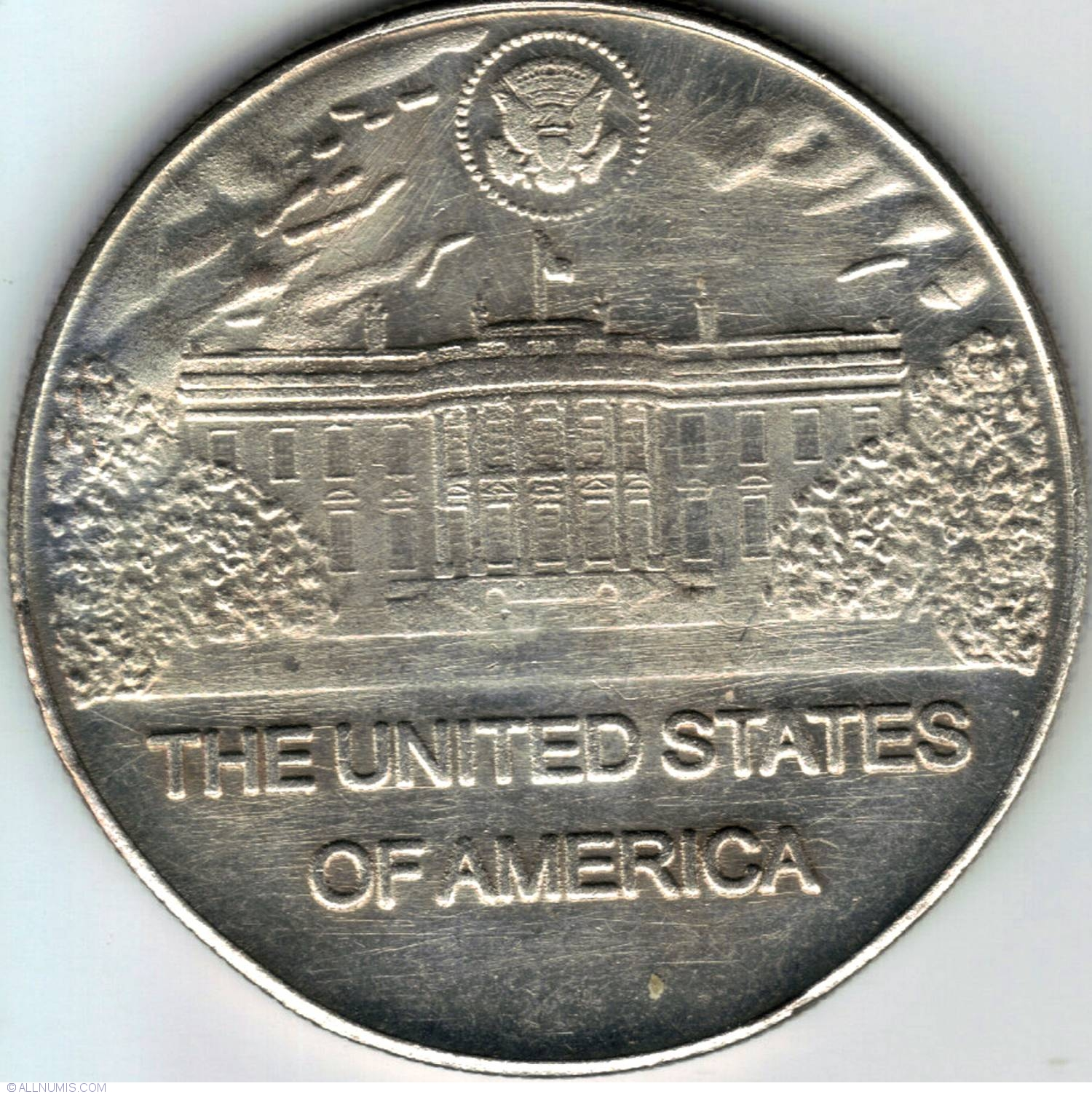 James Madison Jr Fantasy Token United States Of