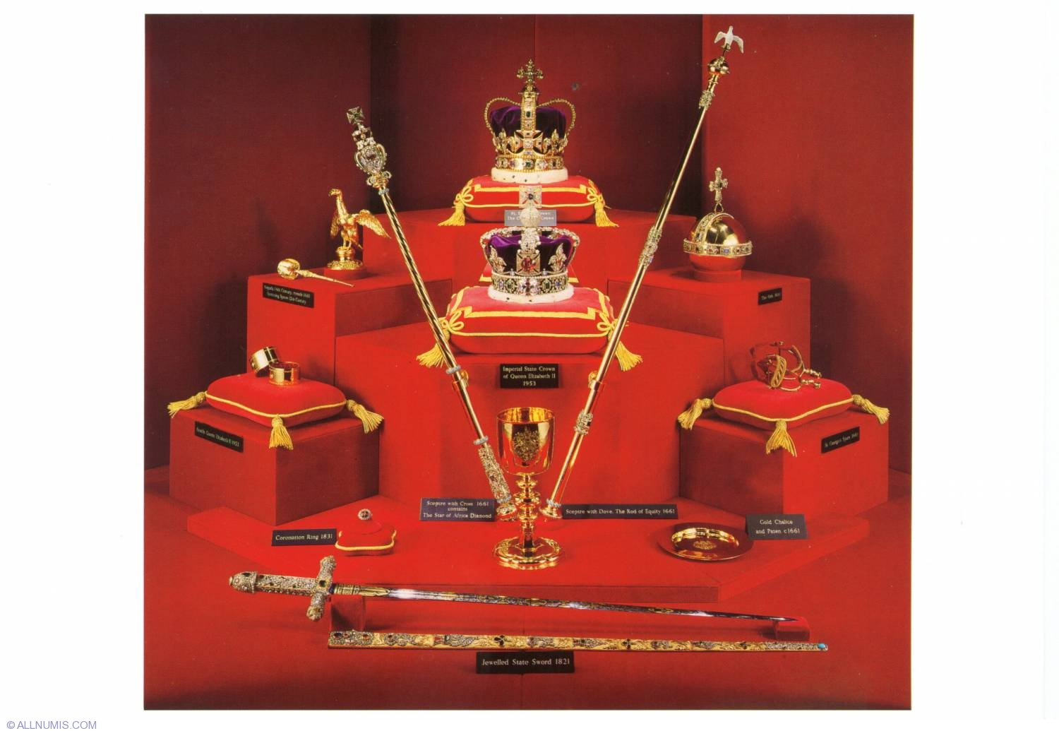 The Crown Jewels 1990 England Tourist Great Britain And