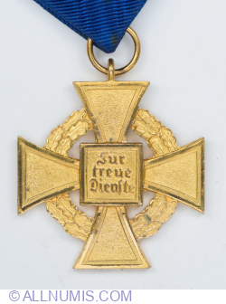 Civil Service Faithful Service Medal 40 Years