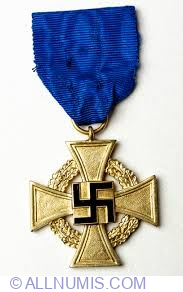 Image #1 of Civil Service Faithful Service Medal 40 Years