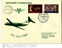Image #1 of First DC-9 Flight Bucharest Copenhagen
