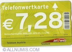 Image #1 of Telefonwertkarte - 7,28 Euro