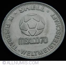 Imaginea #1 a Shell - IX Fussball - Weltmeisterschaft - Mexico 70 - Jurgen Grabowski