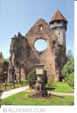 Image #1 of Cârța -  Cistercian monastery ruins. The western portal