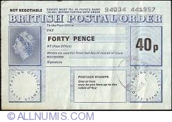 Imaginea #1 a 40 Pence 1974
