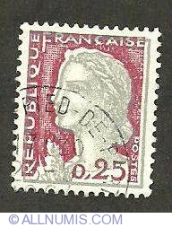 0.25 Marianne de Decaris 1960