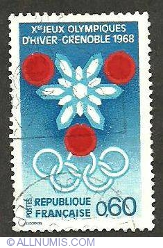 Image #1 of 0.60 Jeux Olympiques d hiver-Grenoble 1968