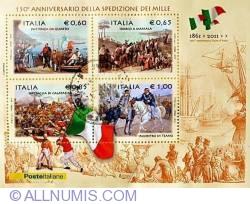 Image #1 of 1 Euro 2011 - 150 Anniversario Della Spedizione dei Mille