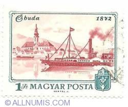1 Ft 1972 - Buda 1872