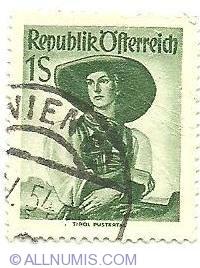 Image #1 of 1 Schilling Tyrol Pustertal 1948