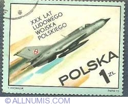 1 Zloty - People's Polish Air Force