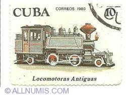 Image #1 of 10 centavos 1980 - Locomotoras Antiguas