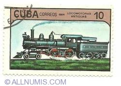 Image #1 of 10 centavos 1984 - locomotoras antiguas