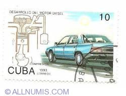 Image #1 of 10 centavos 1993 - Diesel Motor