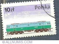 10 Zloty - Lokomotywę elektryczną 201E