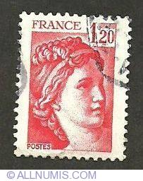 1,20 Fr Sabine de Gandon 1978