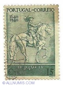 Image #1 of 15 cts- King of Portugal John IV-1940