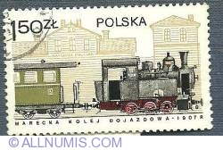 1.50 Zloty - Marecka Kolej Dojazdowa 1907r.