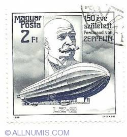 Imaginea #1 a 2 Ft 1988 - Ferdinand von Zeppelin - LZ-2