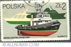 Image #1 of 2 zl 1961 - Modelarstwo Okretowe (Model ships) - Klasa F2