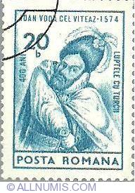 Imaginea #1 a 20 bani - Ioan Voda Cel VIteaz 1574 (luptele cu turcii)