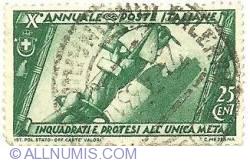 Image #1 of 25 cent - annuales poste italiane