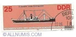 "Image #1 of 25 DDr 1982 - D ""Vorwarts"" erstes Schiff der Dsr"