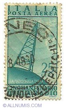 Image #1 of 25 Lire 1949 - Posta Aerea