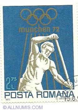 Imaginea #1 a 2.75 lei 1972 - Munchen 1972 - Canotaj
