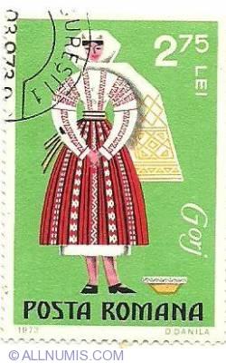 Imaginea #1 a 2.75 Lei 1973 - Costume naționale - Gorj