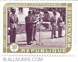 30 c 1972 - anniversaire independance