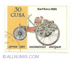 Image #1 of 30 centavos 1984 - Karl Benz 1885