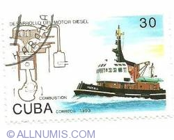 Image #1 of 30¢ 1993 - Diesel Motor