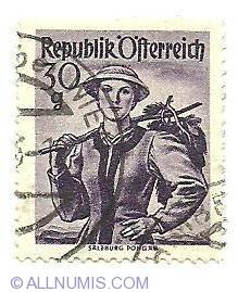 Image #1 of 30 Groschen Salzburg Pongau 1950