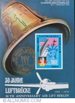 Image #1 of 1978 - 30 Jahre Luftbrucke - 30th Anniversary air lift Berlin