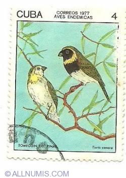 Image #1 of 4 centavos 1977 - Tomeguin Del Pinai