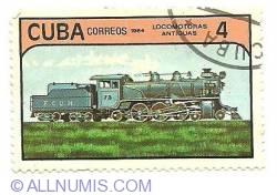 Image #1 of 4 peso 1984 - locomotoras antiguas
