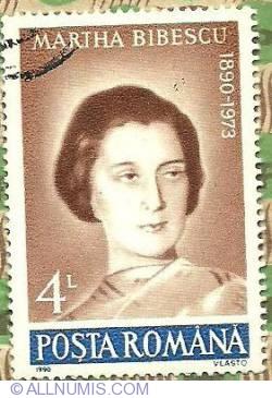 Imaginea #1 a 4 lei 1990 - Martha Bibescu (1890-1973)