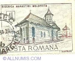Imaginea #1 a 40 Bani 1968 - Biserica Mănăstirii Moldovița