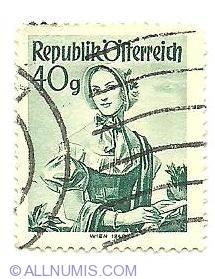 Image #1 of 40 Groschen Wien 1840 1948