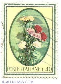 Image #1 of 40 Lire - Poste Italiane*Flower's